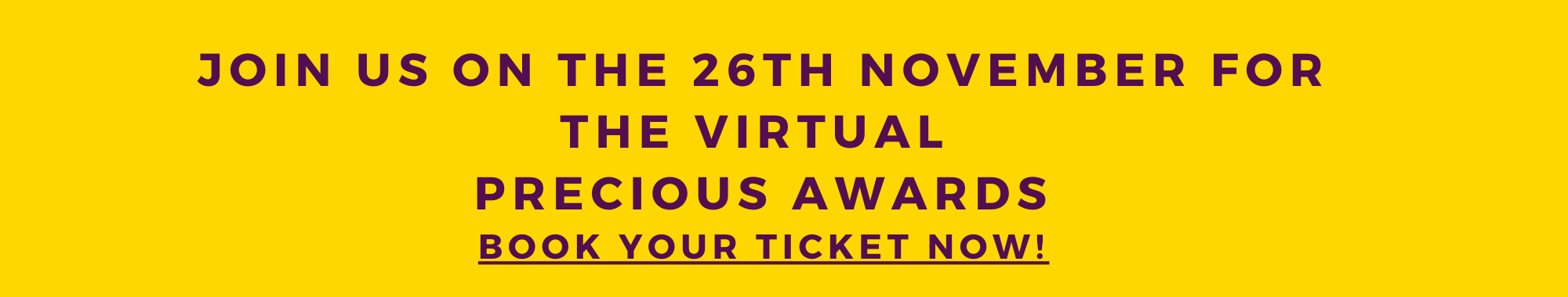 tickets are now on sale for the 14th Annual Precious Awards